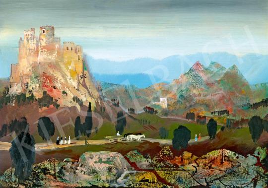 Molnár C. Pál - Romantikus táj | 59. Őszi Aukció aukció / 106 tétel