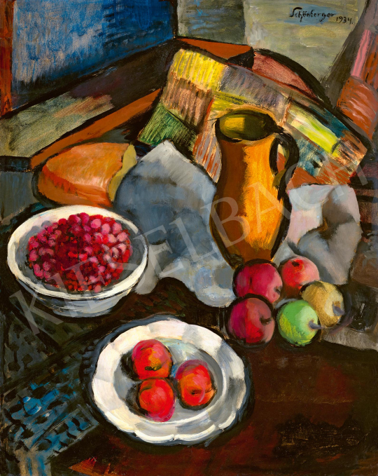 Schönberger, Armand - Studio Still Life with Fruits, 1934 | 59th Autumn Auction auction / 113 Item