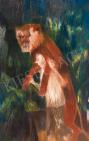 Bernáth, Aurél - A Midsummer Night's Dream painting