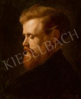 Szinyei Merse Pál - Vörös hajú olvasó férfi, 1867
