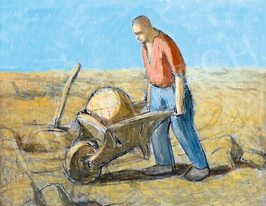 Nagy Balogh, János - Digger, 1910s | 59th Autumn Auction auction / 206 Item