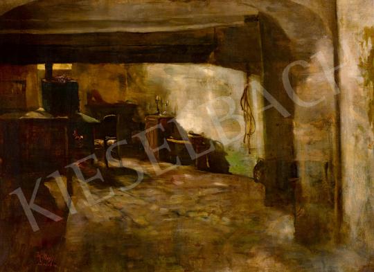 Hollósy, Simon - Dimmed Lights, 1887 | 59th Autumn Auction auction / 216 Item