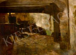Hollósy Simon - Beszűrődő fények, 1887