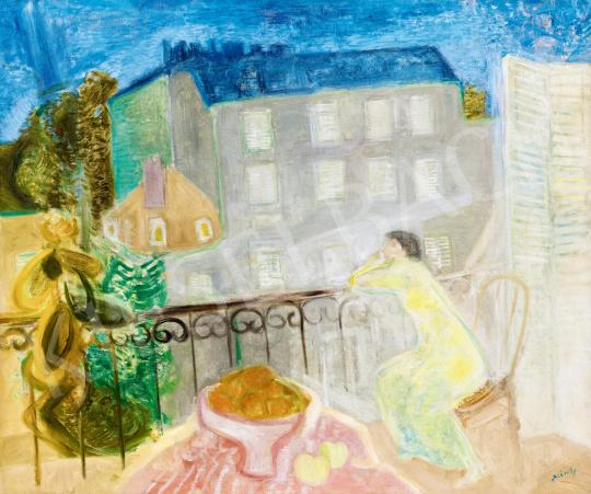 Szín György - Párizsi emlék, 1935 | 59. Őszi Aukció aukció / 224 tétel