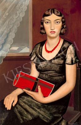 Borbereki-Kovács Zoltán - Goldberger Zsuzsanna portréja, 1933