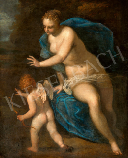 Circle of Jacopo Tintoretto (1518-1594) - Venus and Amor