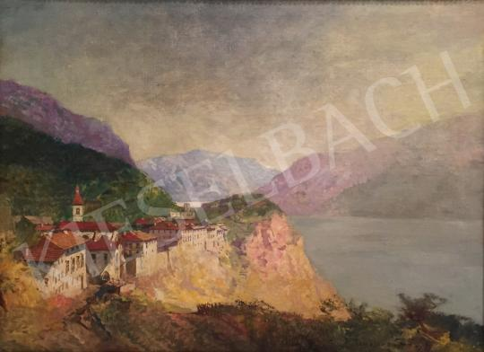 For sale  Háry, Gyula - View of Tremosin  's painting