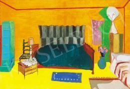 Zemplényi, Magda - Orange Coloured Room