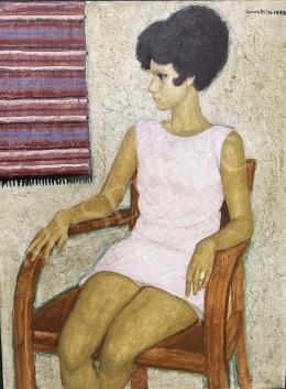 Czene, Béla jr. - Girl in a Rose Dress, 1970