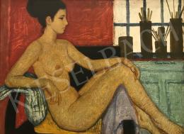 Czene, Béla jr. - Female Nude, 1966