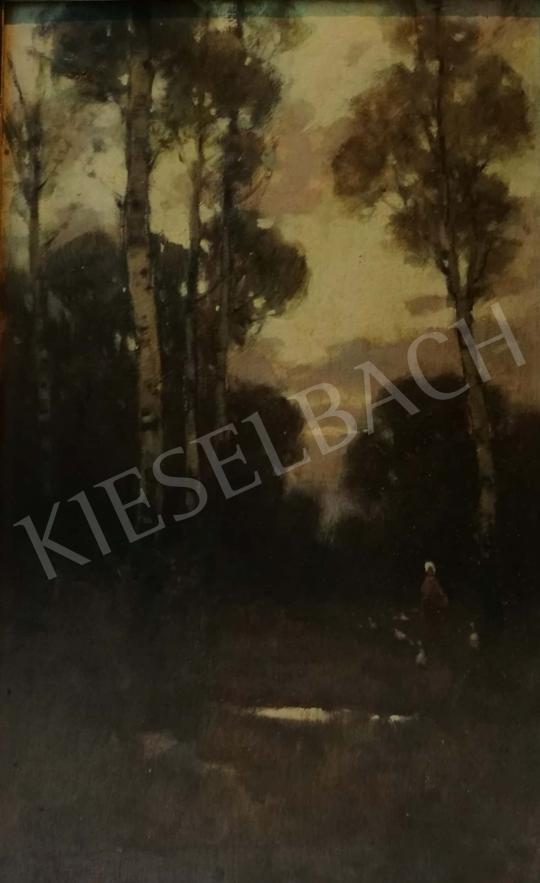 Eladó Komáromi-Kacz Endre - Őszi erdő festménye