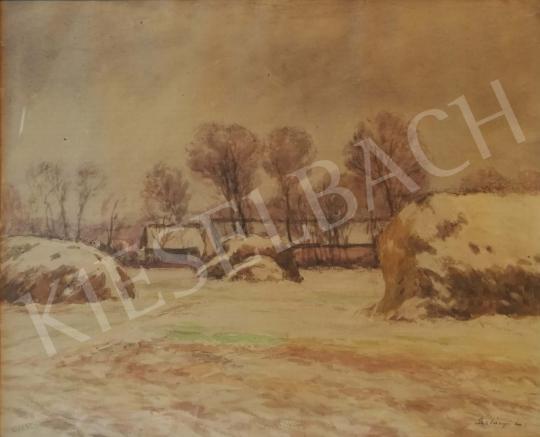 Eladó Szlányi Lajos - Téli táj festménye