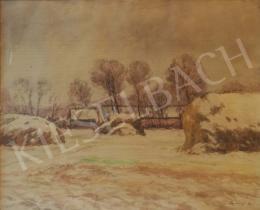 Szlányi, Lajos - Winter Landscape