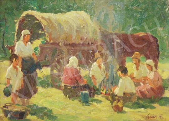 Eladó Gaál Ferenc - Nyári délután festménye