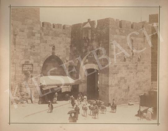 Eladó Ismeretlen fotós - Városfal Jeruzsálemben festménye