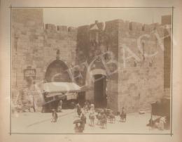 Ismeretlen fotós - Városfal Jeruzsálemben