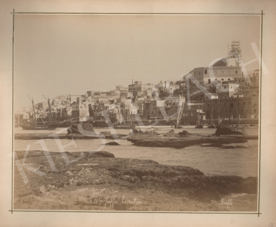 Eladó  Félix Adrien Bonfils  - Jaffa a kikötő felől festménye