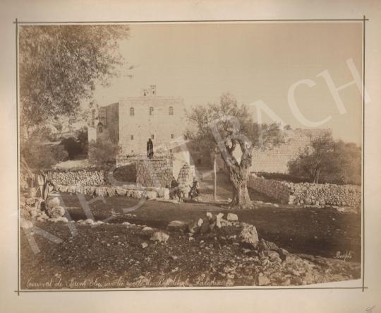 For sale  Félix Adrien Bonfils  - Couvent de Saint Elie sur la route de Bethlehem Palestine  's painting