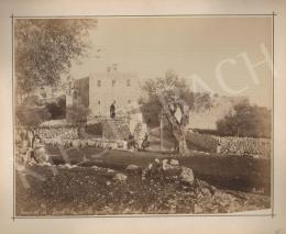 Félix Adrien Bonfils  - Couvent de Saint Elie sur la route de Bethlehem Palestine