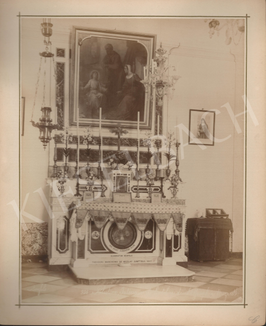 For sale  Félix Adrien Bonfils  - Saint Martian altar in Palestine 's painting