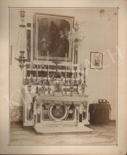 Félix Adrien Bonfils  - Saint Martian altar in Palestine (c. 1885)
