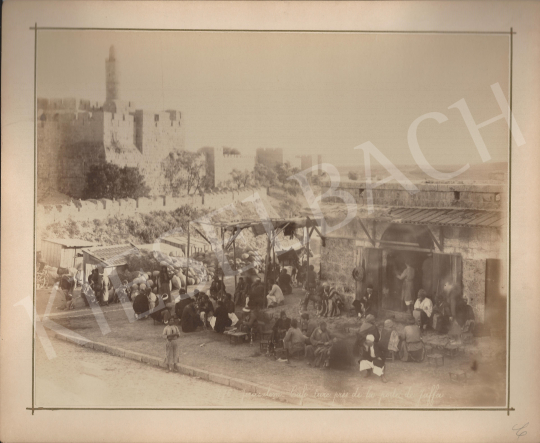 For sale  Félix Adrien Bonfils  - Jerusalem Market at Jaffa Gate 's painting