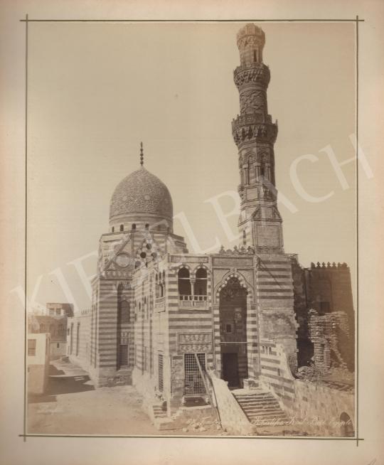 Eladó  Félix Adrien Bonfils  - Kail-Beil kalifa síremléke - Egyiptom festménye