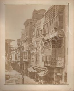 Félix Adrien Bonfils  - Kairói utcakép