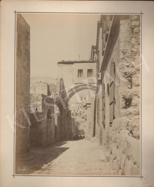 Eladó  Félix Adrien Bonfils  - Jeruzsálem Ecce Homo festménye