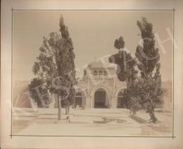 Félix Adrien Bonfils  - Templomudvar fákkal (iszlám felekezet)