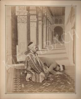 Félix Adrien Bonfils  - Ima a damaszkuszi Nagy Mecsetben II.