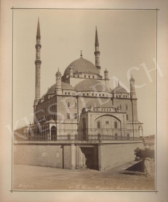 For sale  Félix Adrien Bonfils  - Egypt, Cairo, Mohamed Ali's mosque 's painting
