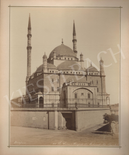 Félix Adrien Bonfils  - Egypt, Cairo, Mohamed Ali's mosque (c. 1880)