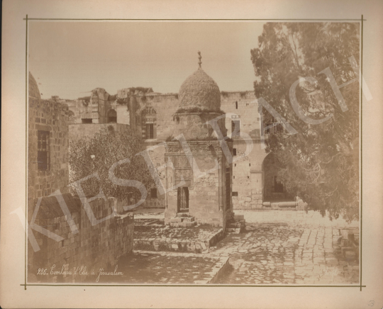 For sale  Félix Adrien Bonfils  - The grave of Elijah in Jerusalem 's painting