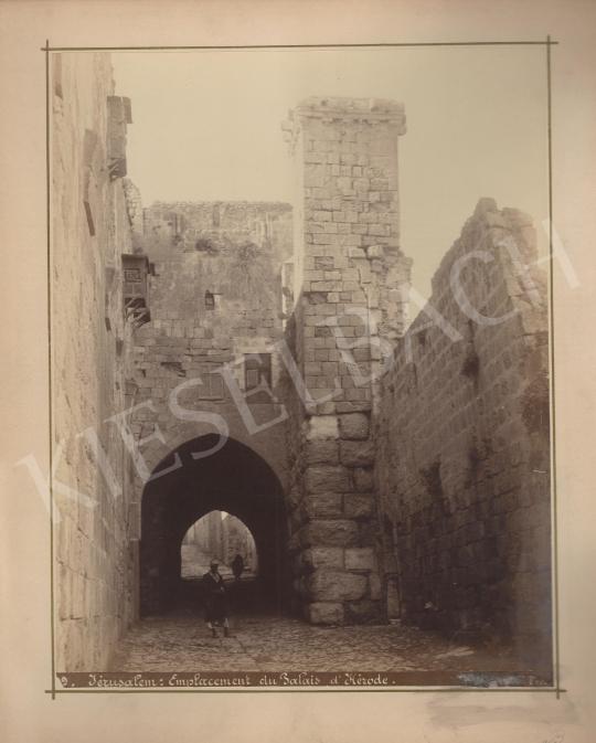 Eladó Ismeretlen fotós - Heródes palotája Jeruzsálemben festménye