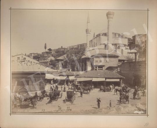 Eladó Ismeretlen fotós - Place de débarcadére de Skutari, Albánia festménye