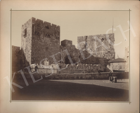 For sale Unknown artist - Palace of king David in Jerusalem 's painting