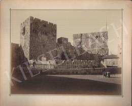 Ismeretlen fotós - Dávid királyi palotája Jeruzsálemben