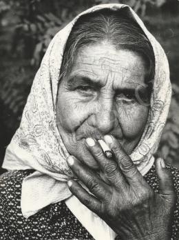 Radnai Zoltán - Cigányasszony portréja