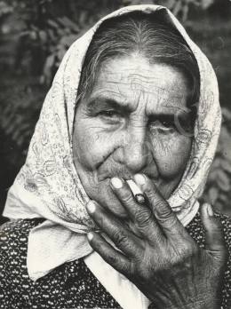 Zoltán Radnai  - Gypsy woman (c. 1982)