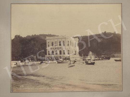 Eladó  Jean Pascal Sébah - Boszporusz partja (Császári nyári palota) festménye