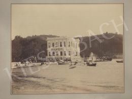 Jean Pascal Sébah - Boszporusz partja (Császári nyári palota)