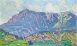 Bosznay, István - Mountain Landscape (Fenyőháza, Slovakia), 1912