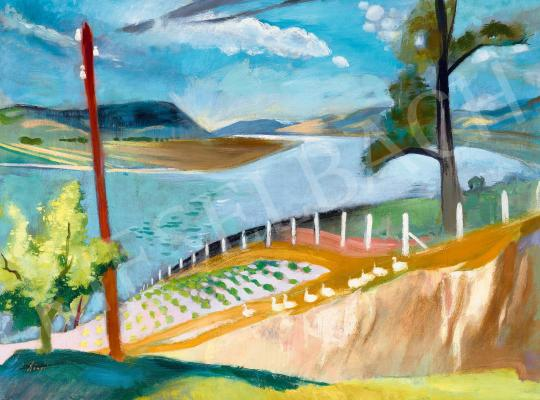 For sale  Szőnyi, István - View to the Danube (Zebegény), 1932 's painting