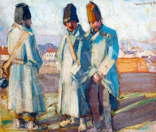 For sale  Vaszary, János - Cossack Soldiers, c. 1915 's painting
