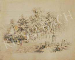 Szemlér Mihály - Városi életkép, 1862