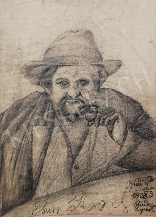 Eladó Buti István - Férfi portré, 1930 festménye