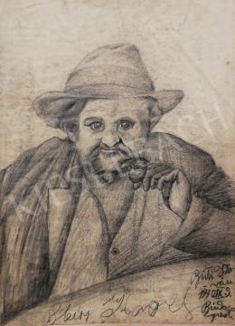 Buti István - Férfi portré, 1930
