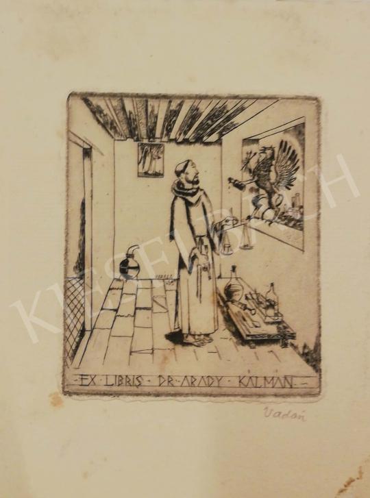 Eladó Vadász Endre - Ex Libris Dr. Arady Kálmán, 1935 festménye