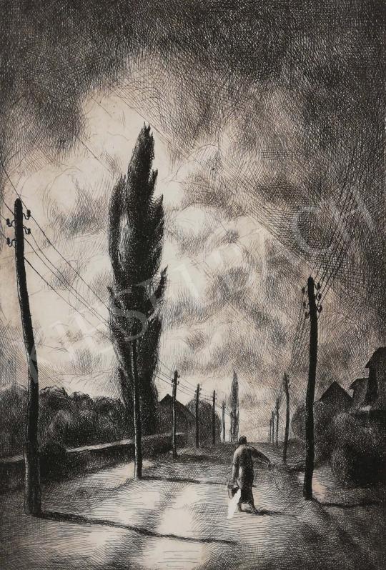 Eladó  Patkó Károly - Országút festménye